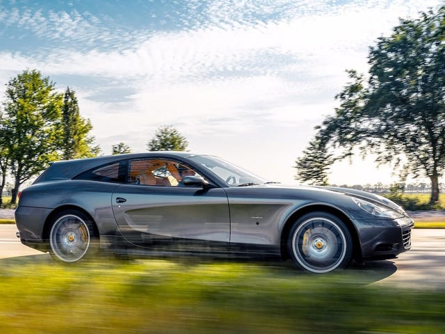 This Ferrari 612 Scaglietti Shooting Brake Is a Modern-Day Breadvan