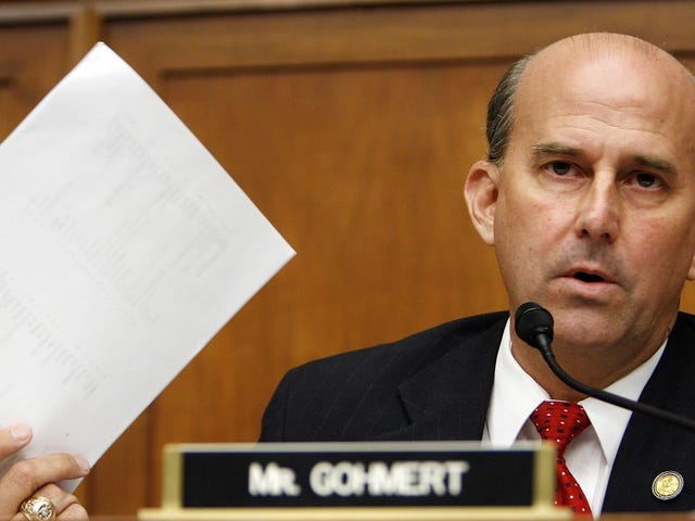 "Congressional Mutant Louie Gohmert Sticks Up For Jim Jordan: ""These Former Wrestlers Were Adults"""