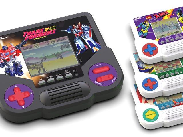 Hasbro đang mang lại trò chơi LCD cầm tay của Tiger Electronics