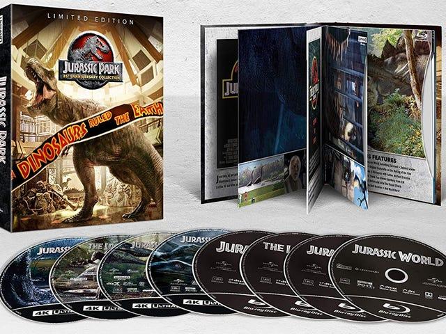 Håll fast vid dina skott, Jurassic Park 25-årsjubileumssamling är nere till bara $ 30
