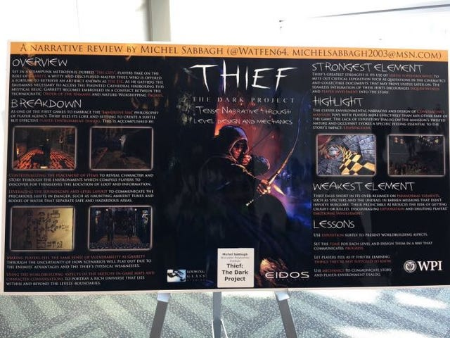 Thief: tense narrative through level design and mechanics