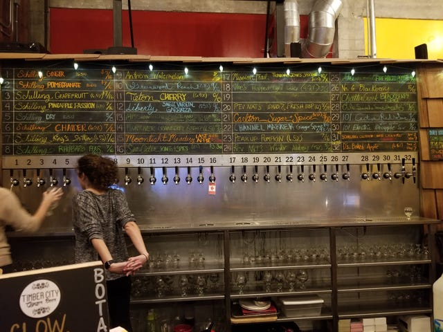 Oppo review: Schilling Cider House