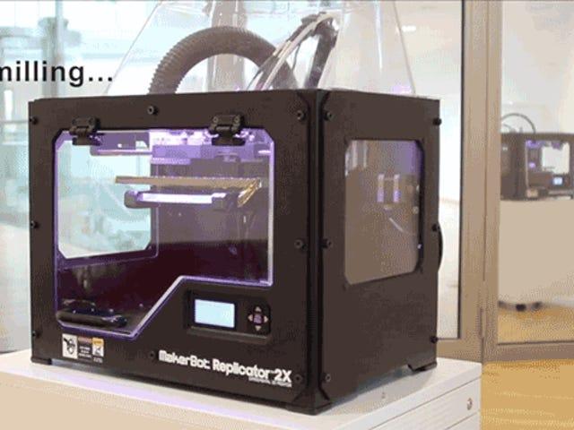 Denne destruktive 3D-printer er den nærmeste Vi har kommet til teleportation