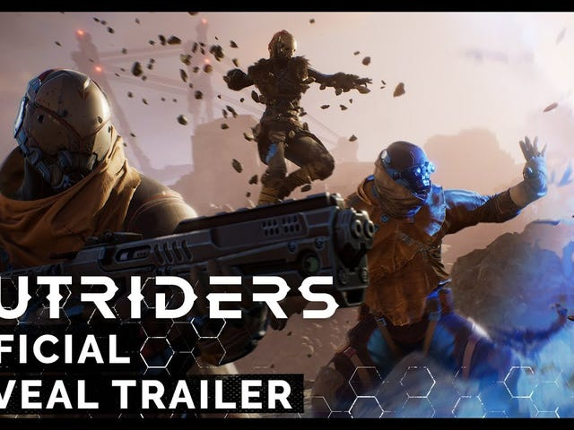 Outriders, the coop RPG shooter revealed at last year's E3, has been delayed until this holiday and