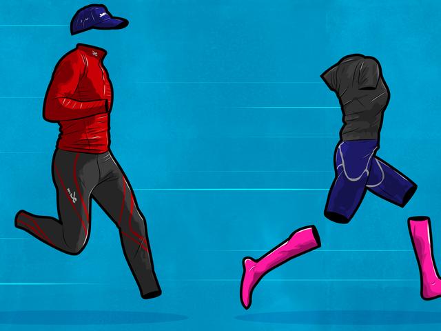 ¿Los calcetines, mangas y envoltorios de compresión lo ayudan a trabajar mejor?