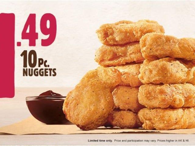 Mengapa membeli 10 nugget ayam ..