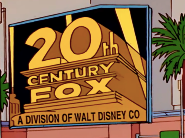 Of Course The Simpsons Predicted the Disney/Fox Deal