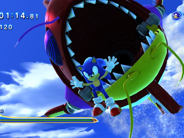 A Few Words on Sonic Generations