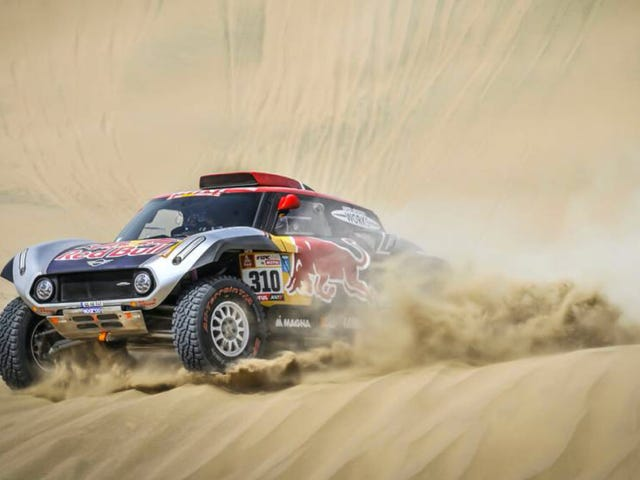 America's Most Promising Racer At Dakar Suffers Heavy Crash At The Start Of Day Two