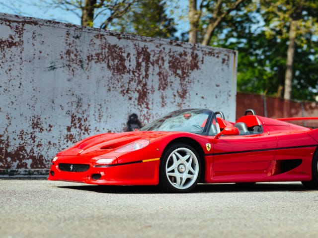 Buy the Ferrari F50 That Was the Literal Model for the Bedroom Posters