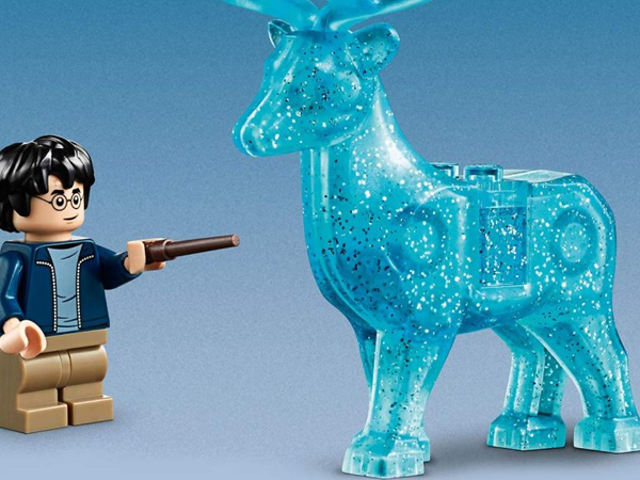An Incredibly Sparkly Stag Might Just Be the Best Part of Lego's New Harry Potter Sets