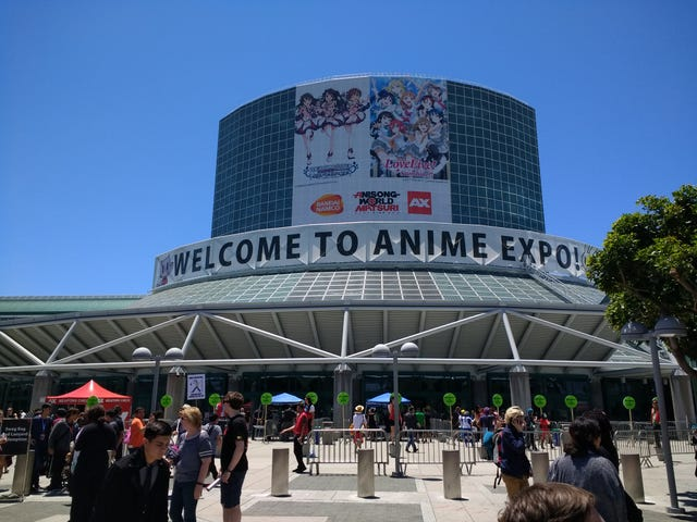 Dark Aether Invades Anime Expo 2018! (Prologue and Day 1)