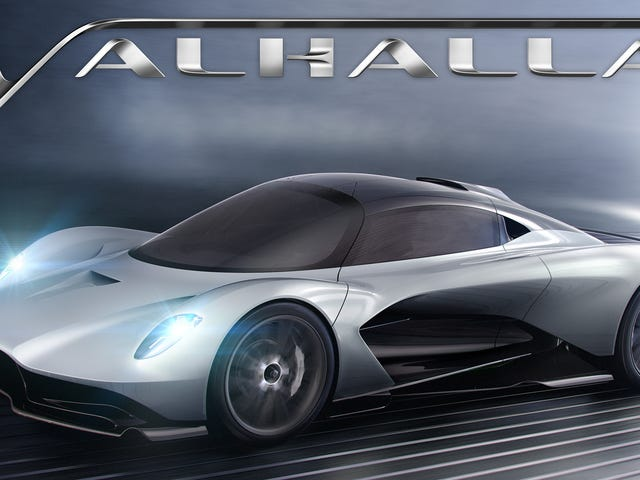 James Bond Will Drive the New Aston Martin Valhalla in Bond 25: Report