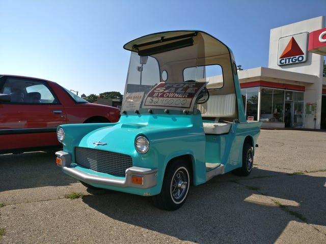 Torch-Bait, 50's Thunderbird Golf Cart Edition