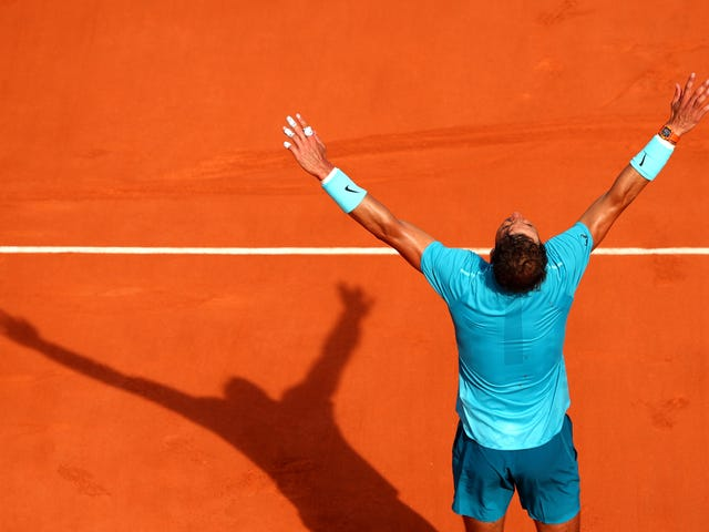 These Two Points Adequately Represent Rafael Nadal's Ridiculous Clay Season