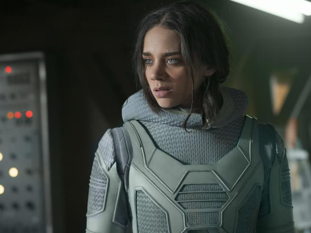 Hannah John-Kamen Got a Pretty Nice Recommendation for <i>Ant-Man & The Wasp</i>
