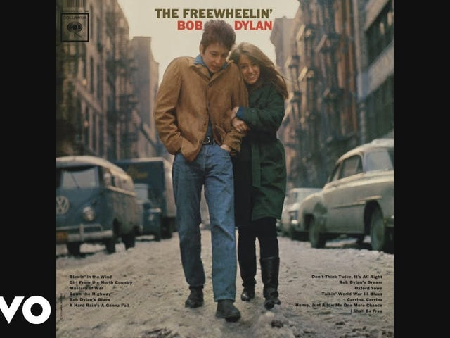 Track: Don't Think Twice, It's All Right | Artist: Bob Dylan | Album: The Freewheelin' Bob Dylan