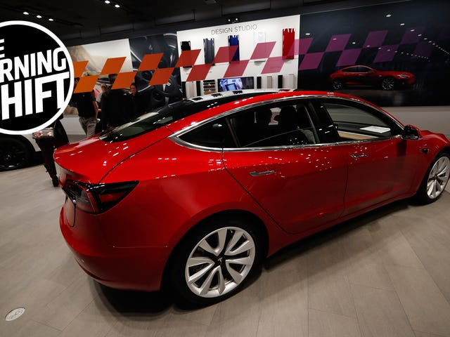 Tesla May Be Making Model 3s Faster than Anyone Thought