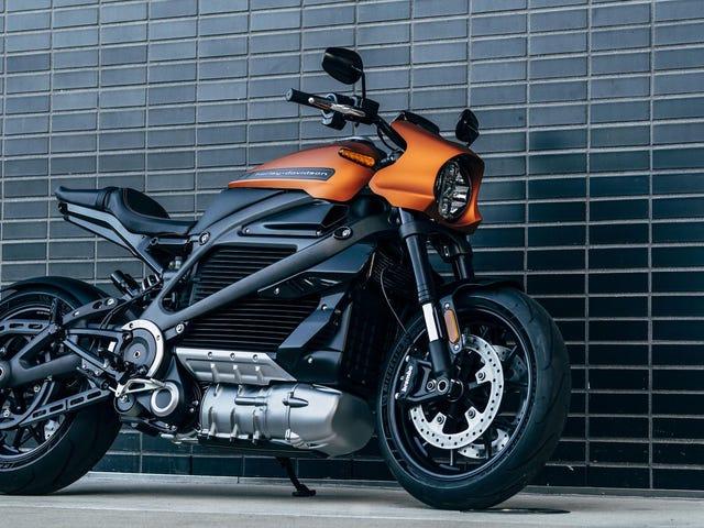 La primera moto eléctrica de Harley-Davidson llega en agosto y cuesta 30.000 dólares