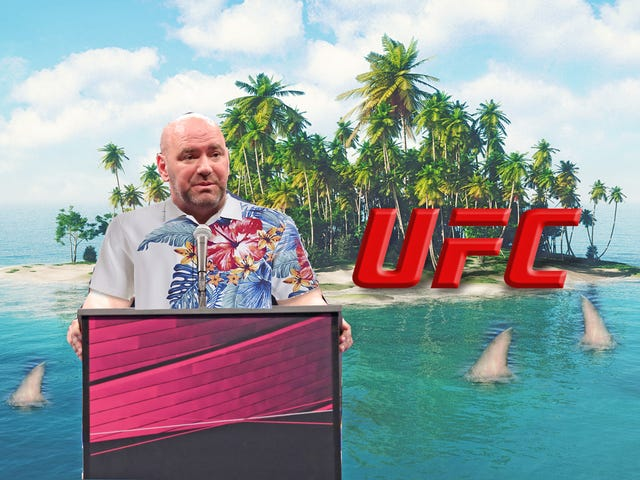 The Only Island Where Dana White's Insane Mortal Kombat-Style Event Makes Sense is Fantasy Island