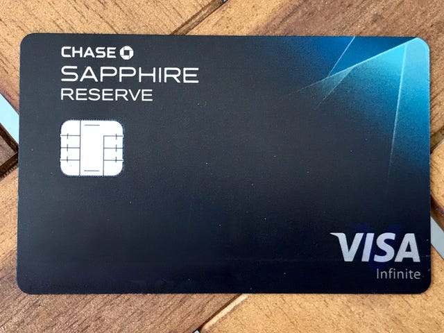 For Frequent Travelers, The Chase Sapphire Reserve Is A Core Holding