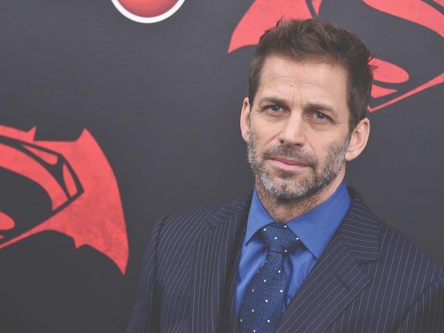 """Herlig, her er Zack Snyder som viser den fysiske eksistensen av Justice Leagues """"Snyder-snitt"""""""