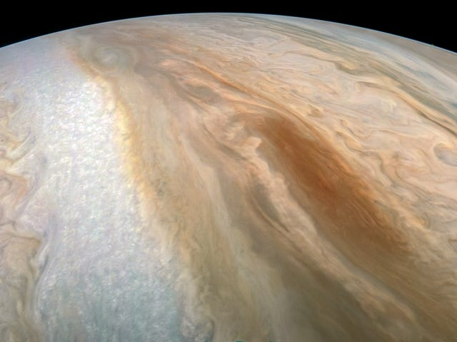 A Great Brown Storm Is Raging on Jupiter