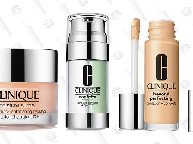 Revamp Your Winter Skincare and Makeup Routines With 25% Off Clinique