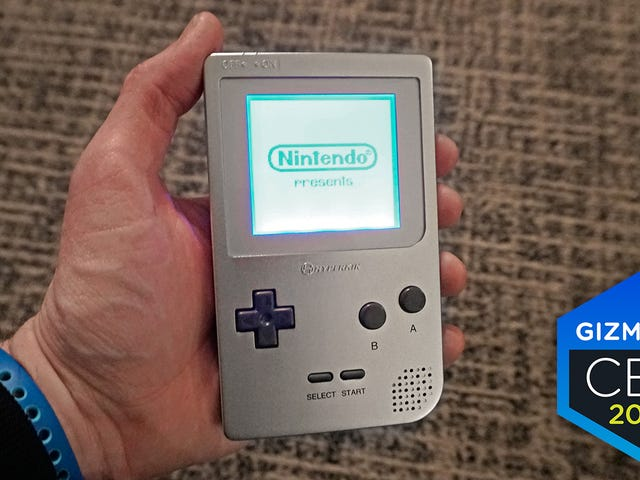 Game Boy sta tornando grazie a Hyperkin