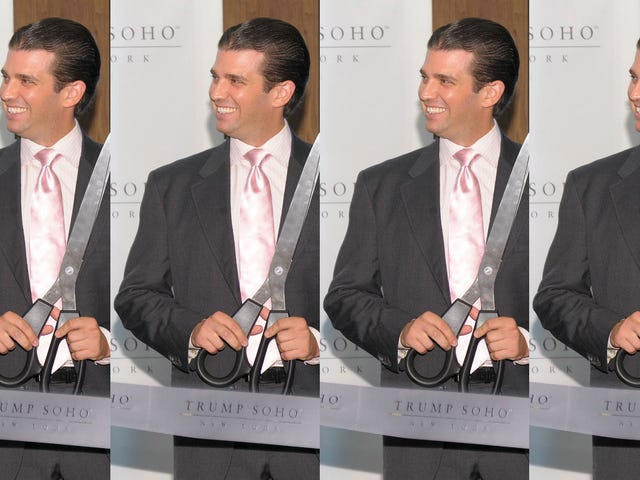 Big Scissor Time per Don Jr.