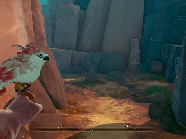 Falcon Age dreht sich alles um diesen Vogel