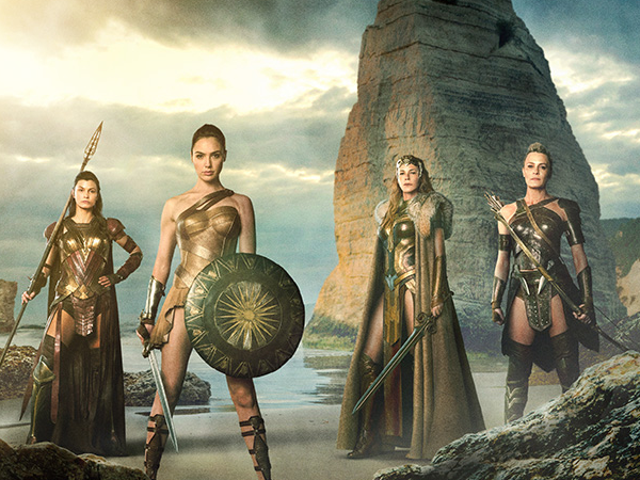 The Amazons Ride Into Action in New Wonder Woman Set Pictures