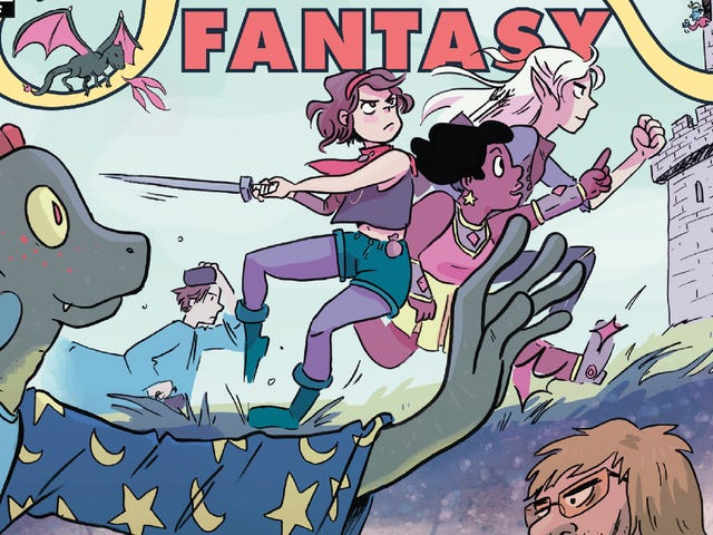 This Modern Fantasy #1 exclusive injects reality into D&D-style fantasy