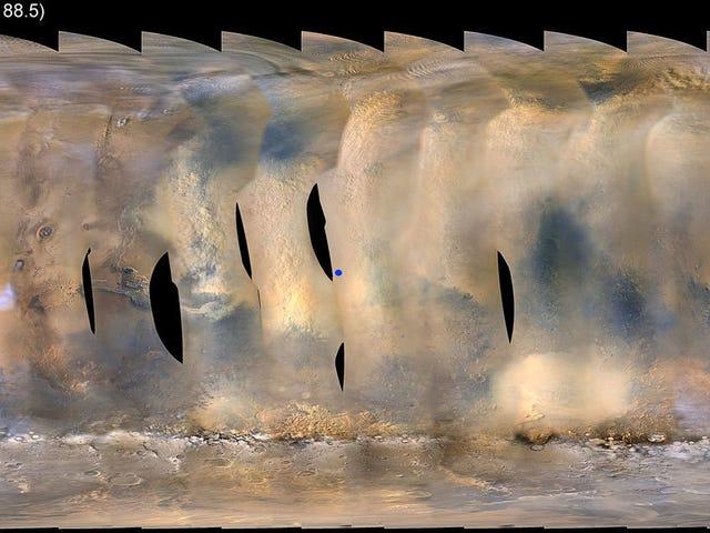 Debu Storm Martian Menghantar Rover Peluang NASA ke dalam Mod Hibernasi