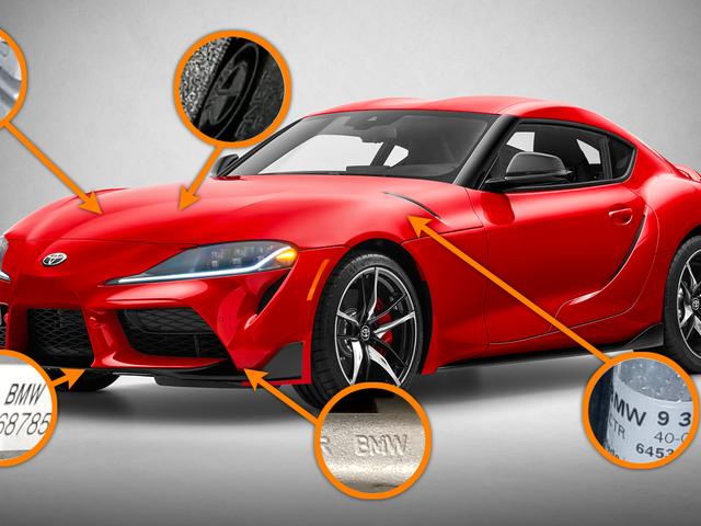 Hva vi fant da vi crawled Under 2020 Toyota Supra