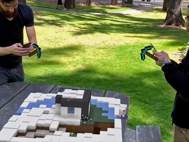 Minecraft Earth Gameplay Looks Adorable