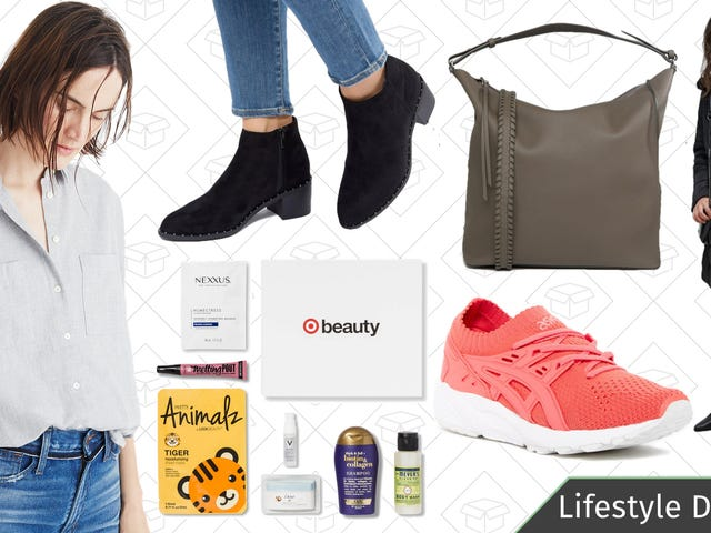 Tuesday's Best Lifestyle Deals: Target Beauty Boxes, ASOS, Madewell, ASICS, and More