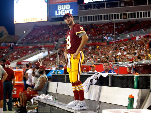 """Joe Theismann On The Skins Re-Signing Kirk Cousins: """"It Would've Been A Big Nut To Swallow"""""""