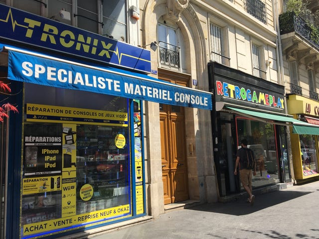 One Paris Street Has A Dozen Video Game Stores