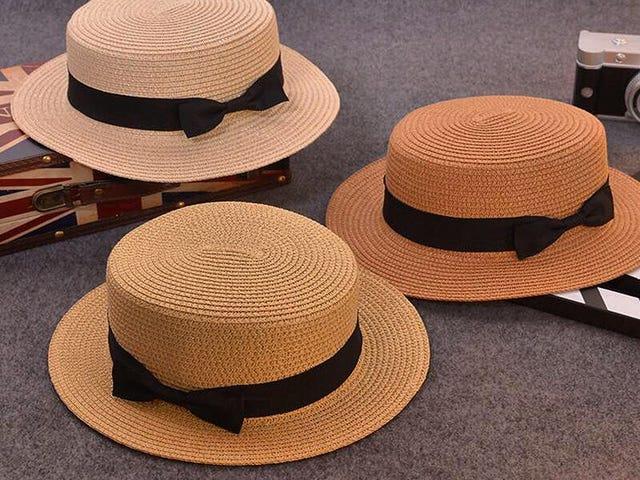 Μοντέρνο καπέλο ηλίου γονέα-παιδιού
