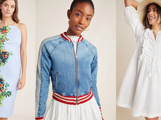 Add Some New Anthropologie Apparel to Your Wardrobe With 20% Off, Today Only
