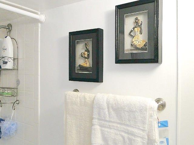 Залиште свій улюблений туалетний прилад у будинку батька, щоб вони були в наступний раз, коли ви відвідуєте