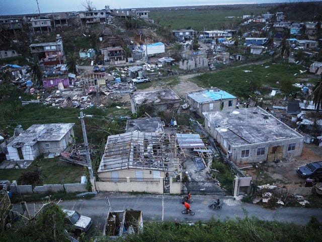Trump Gives Himself a 10 for Relief Efforts in Puerto Rico; Former Island Governor Hits Him With #WellActually on Twitter