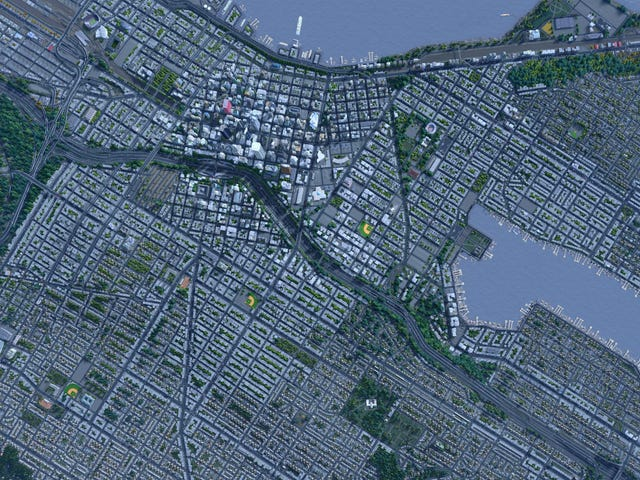 Seattle, Recreated Almost Perfectly In <i>Cities: Skylines</i>