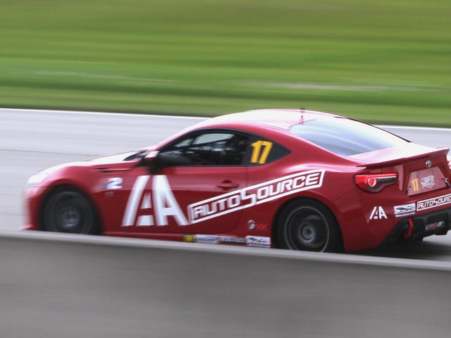 What It Was Like Running The Charity Hurricane Toyota 86 Race Car With Two Pro Drivers