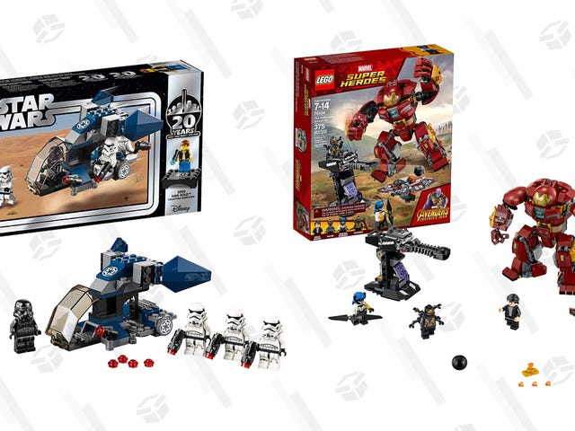 Today Is a Great Day to Buy LEGO Sets; Get $10 Off an Order Of $50 or More