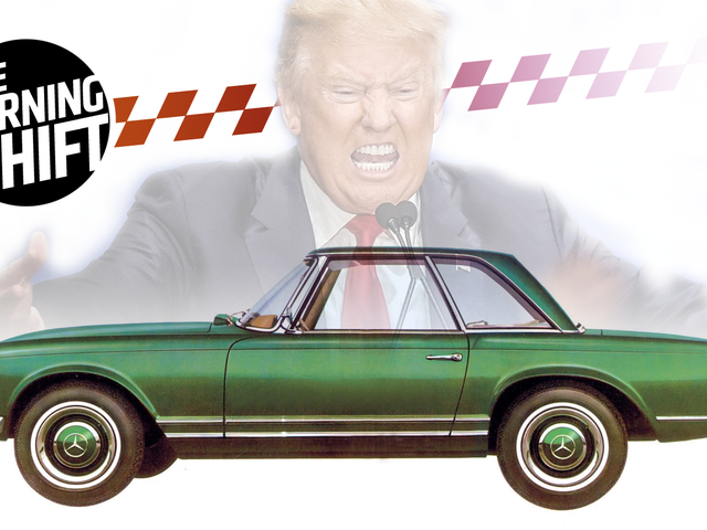 Trump Threatens To Push German Carmakers From The U.S. Market: Report