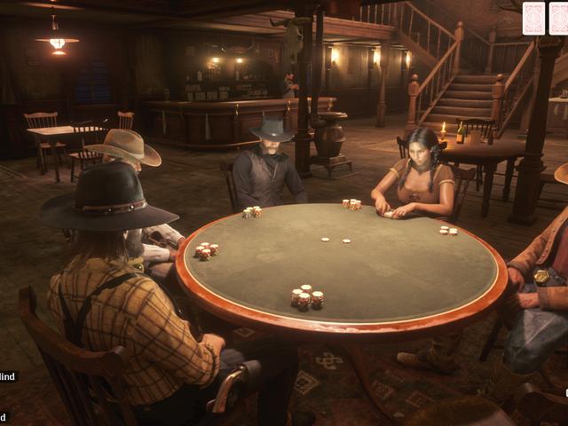 Dernière mise à jour en <i>Red Dead Online</i> poker, ponchos, etc.