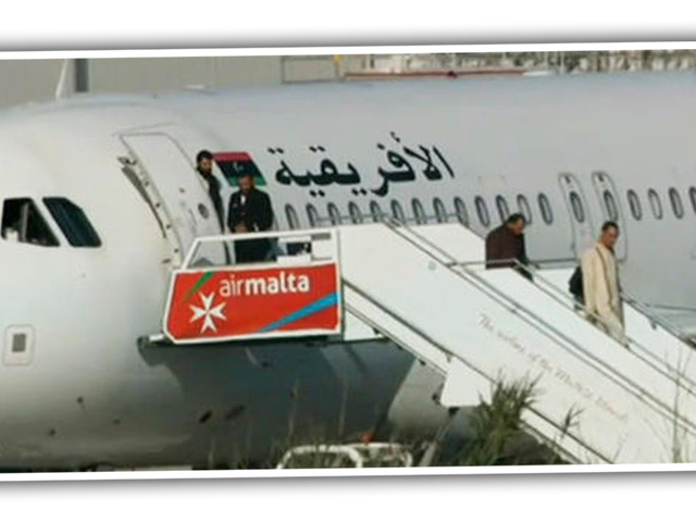 Libyan Plane Hijacked To Malta, Passengers Released