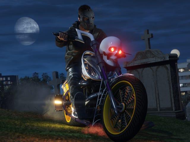 Quelques heures avec <i>GTA Online's</i> événement Halloween de <i>GTA Online's</i>